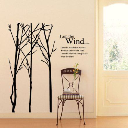 Én vagyok a szél, fa sziluett