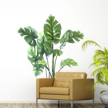 Könnyező pálma levelek, falmatrica