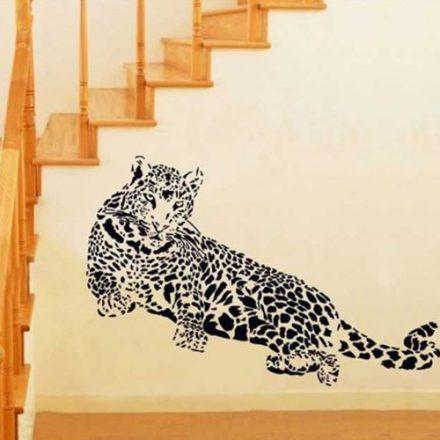 Pihenő leopárd