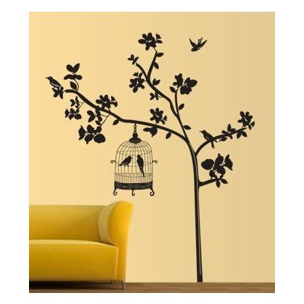 Fekete fa kalitkával