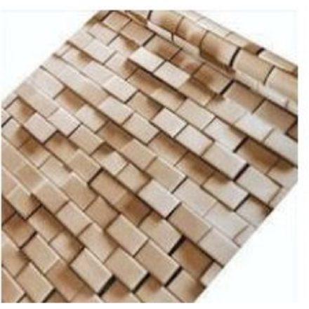 Mozaik téglamintás 3D öntapadó tapéta a Dekoráció Webáruházban