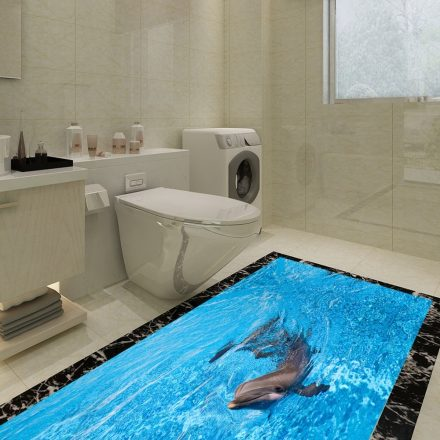 Delfin, 3D padlómatrica