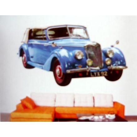 Kék old mobil, 3D falmatrica