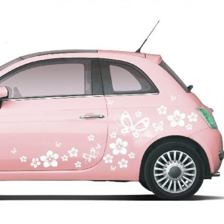 Pillangók, virágok, pöttyök autómatrica