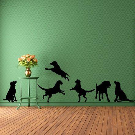 Játékos kiskutyák