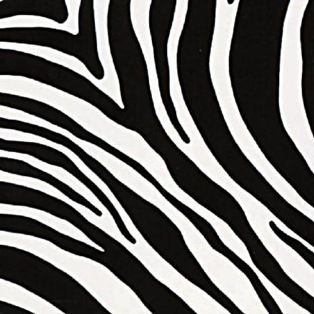 Zebramintás öntapadós tapéta a Dekoráció Webáruházban