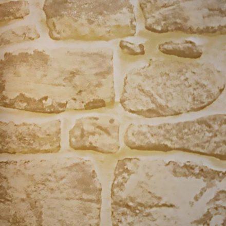 Mediterrán kőfal 3D öntapadós tapéta a Dekoráció Webáruházban