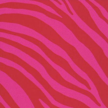 Pink zebramintás öntapadós tapéta a Dekoráció Webáruházban