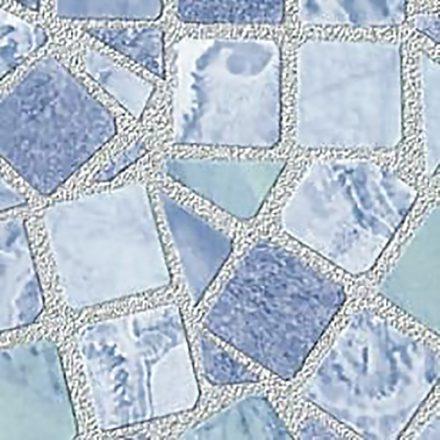 Világos kék mozaik mintás 3D öntapadós tapéta a Dekoráció Webáruházban