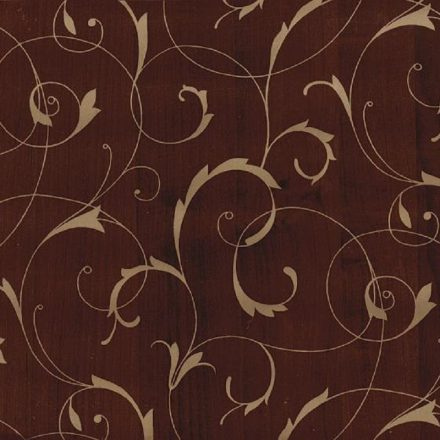 Égerfa barna arany intarzia mintás öntapadós tapéta a Dekoráció Webáruházban