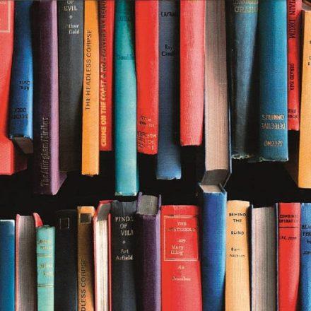 Könyv mintás öntapadós tapéta a Dekoráció Webáruházban