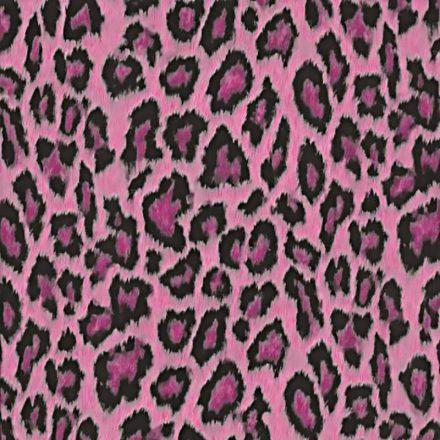 Pink leopárd mintás öntapadós tapéta a Dekoráció Webáruházban