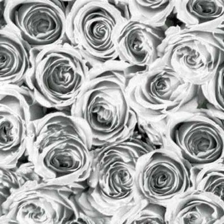 Fehér rózsa mintás öntapadós tapéta a Dekoráció Webáruházban