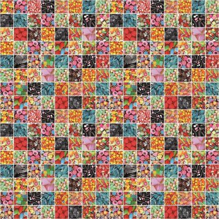 Cukorka mintás öntapadós tapéta a Dekoráció Webáruházban