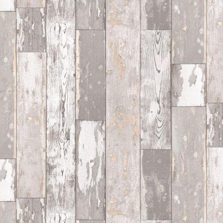 Világos kopott deszka mintás öntapadós tapéta a Dekoráció Webáruházban