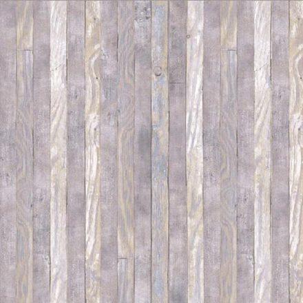 Szürke deszka mintás öntapadós tapéta a Dekoráció Webáruházban