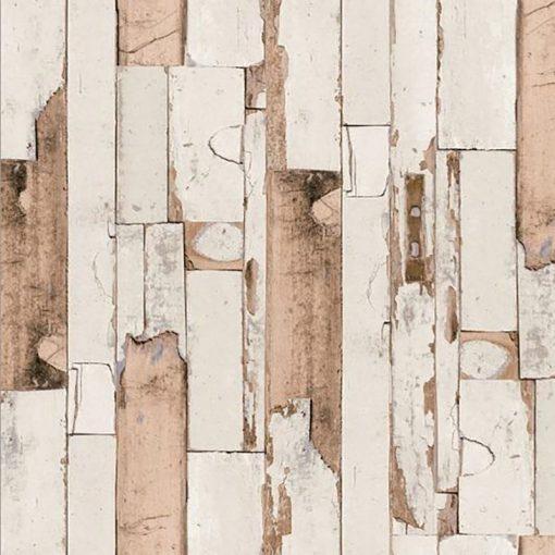 Koptatott deszka mintás öntapadós tapéta a Dekoráció Webáruházban