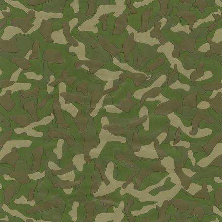 Zöld terepmintás öntapadós tapéta a Dekoráció Webáruházban