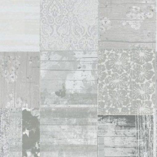 Vintage szürke mintás öntapadós tapéta a Dekoráció Webáruházban