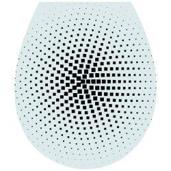 Absztrakt2, 3D toalett díszítő matrica - Dekoráció Webáruház