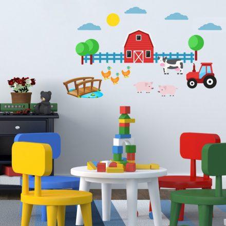 Farm1, falmatrica gyerekeknek a Dekoráció Webáruházban
