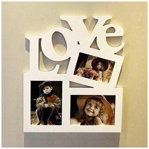 Love natúr fa képkeret a Dekorácó Webáruházban