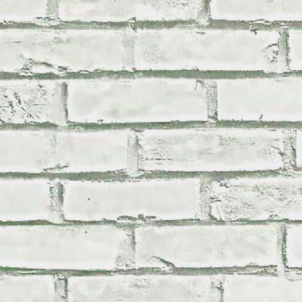 Fehér téglamintás 3D öntapadós tapéta a Dekoráció Webáruházban