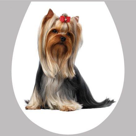 Kutya1, toalett díszítő matrica - Dekoráció Webáruház