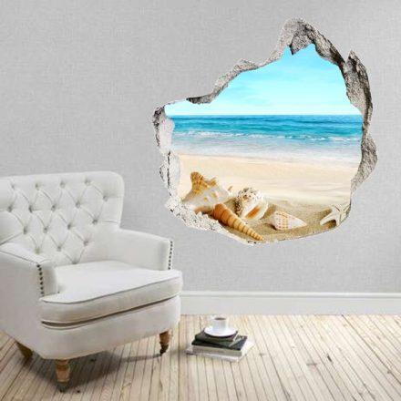 Kitört falon át a tenger, falmatrica a Dekoráció Webáruházban