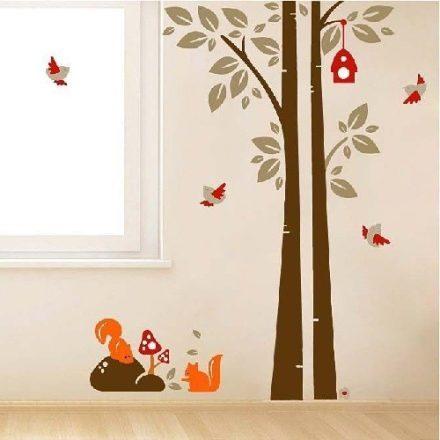 Erdei fa, falmatrica gyerekeknek a Dekoráció Webáruházban