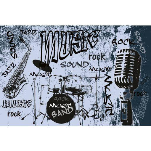 Rock - zene - banda, poszter tapéta 375*250 cm