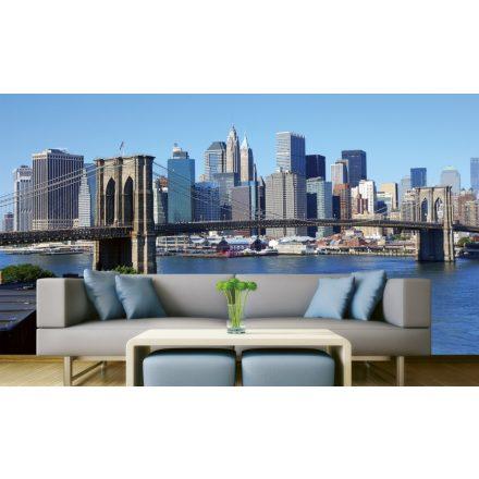 New Yorki városkép, poszter tapéta 375*250 cm
