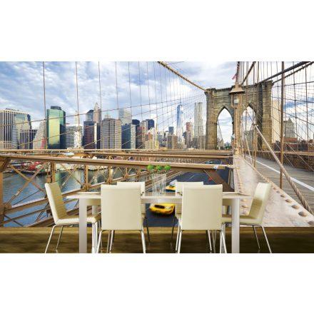 Brooklyn hídon ülve, poszter tapéta 375*250 cm