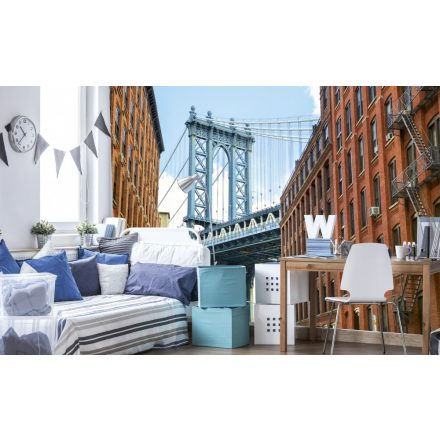 New-York utcája, poszter tapéta 375*250 cm