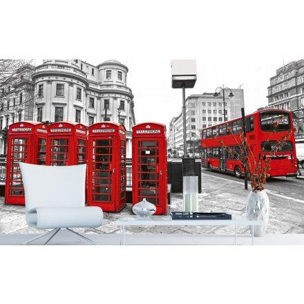 Londoni utcakép, poszter tapéta 375*250 cm