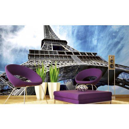 Eiffel-torony alulról, poszter tapéta 375*250 cm