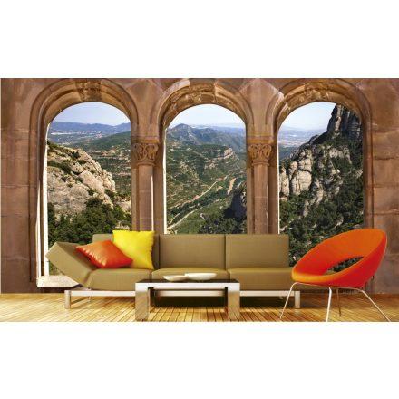 Kilátás az ablakon, poszter tapéta 375*250 cm