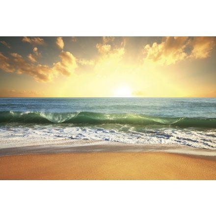Naplemente a tengerpartról, poszter tapéta 375*250 cm