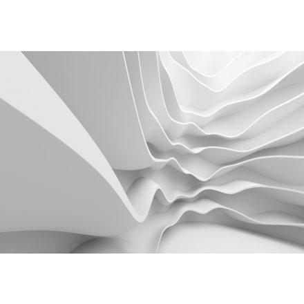 Fehér hullám, poszter tapéta 375*250 cm