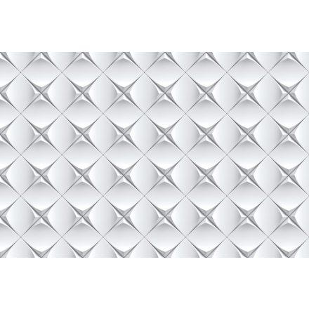 Fehér nyomott fal, poszter tapéta 375*250 cm