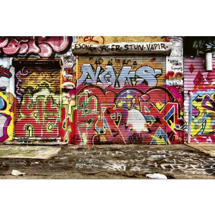 Graffiti a falon, poszter tapéta 375*250 cm