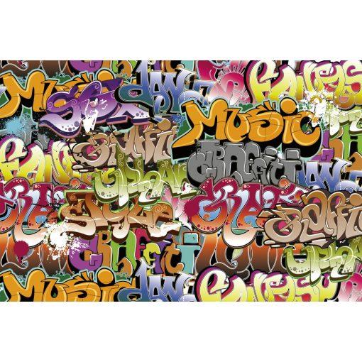 Graffiti feliratok, poszter tapéta 375*250 cm