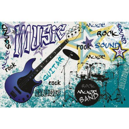 Kék zenész, poszter tapéta 375*250 cm