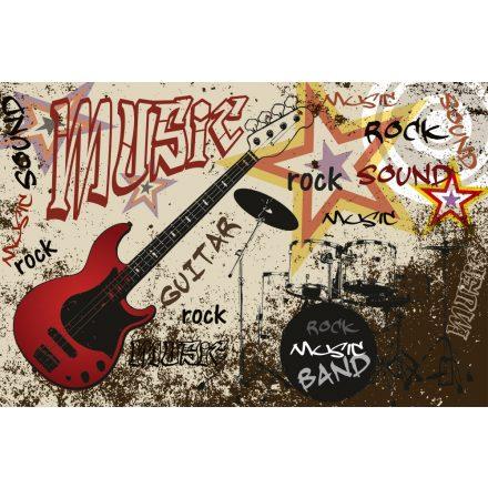 Rock zene, poszter tapéta 375*250 cm