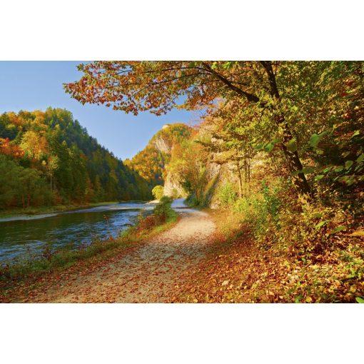 Ősszel a folyóparton, poszter tapéta 375*250 cm