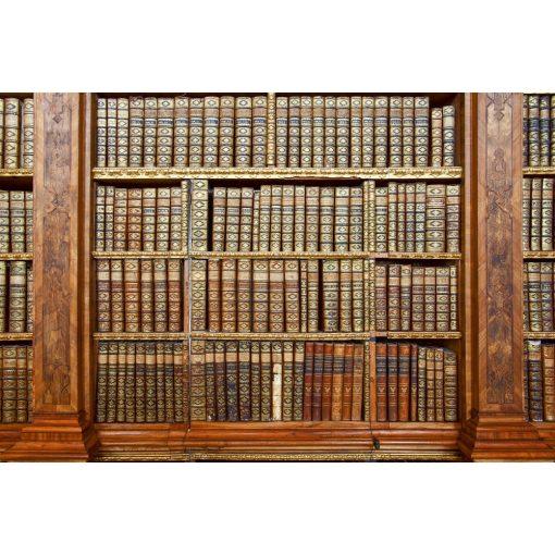 Antik könyvespolc, poszter tapéta 375*250 cm