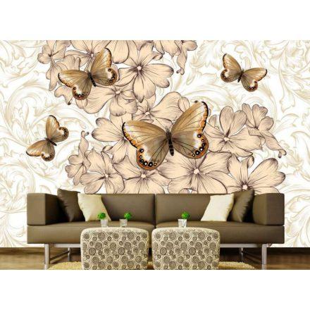 Pillangók, poszter tapéta, 375*250 cm