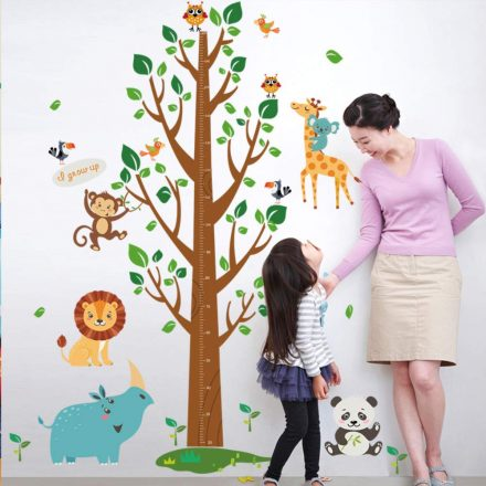 Magasságmérő fa, állatokkal