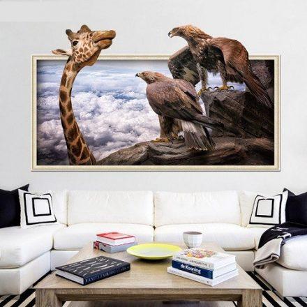 Zsiráf és sas