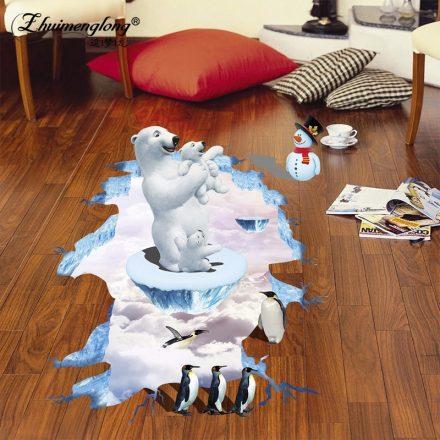 A jegesmedve birodalma, 3D padlómatrica